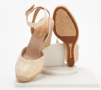 Aerosoles x Martha Stewart Two Piece Wedges - Meadow