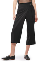Topshop D-Ring Crop Trousers