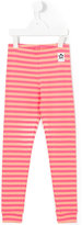 Mini Rodini striped leggings - kids - Organic Cotton/Spandex/Elastane - 5 yrs