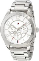 Tommy Hilfiger 1781215 Sport Multifunction Stainless Steel Case and Bracelet Watch