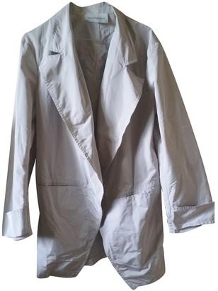 Saint Laurent Grey Coat for Women