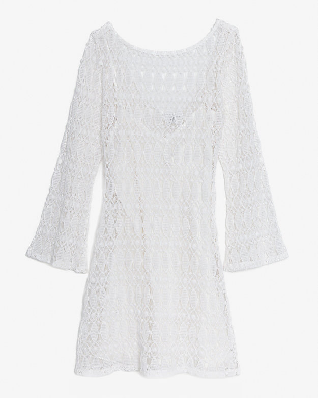 Miguelina Exclusive Crochet Lace Dress