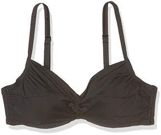 Esprit Bodywear Women's 996EF1A976 Bikini Top, Black