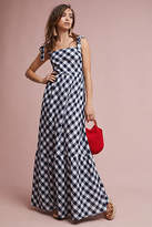 Steele Tiered Gingham Maxi Dress