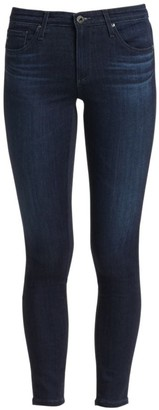 AG Jeans Super Skinny Mid-Rise Ankle Jeans
