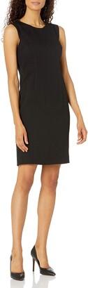 Kasper Women's Sleeveless Crepe Sheath Dress