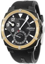 Alpina Dial Silicone Strap Men's Watch AL950LBG4FBAE9