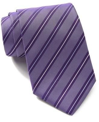 BOSS Silk Diagonal Stripes Tie