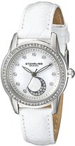 Stuhrling Original Women's 561.01 Countess Analog Display Quartz White Watch