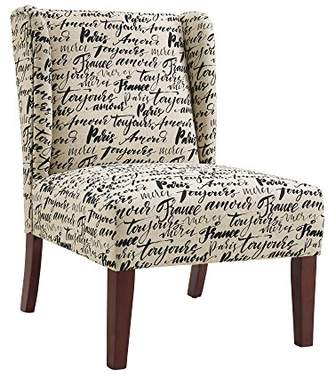 Linon Margaret Wing Back Chair