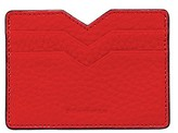 Mackage Wes Double Sided Leather Cardholder In Flame