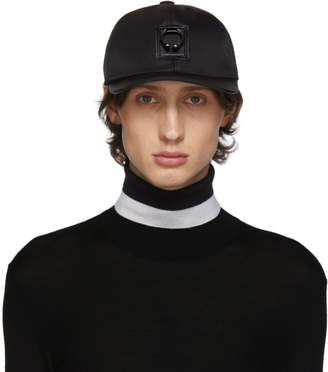Neil Barrett Black Pierced Cap