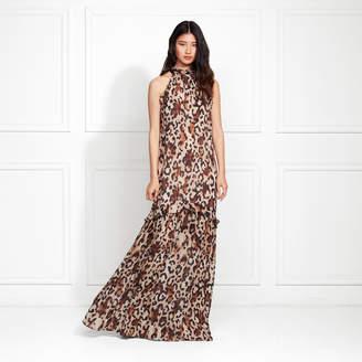 Rachel Zoe Tosca Leopard Print Maxi Dress