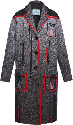 Prada Structured Coat Size: 50