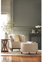 Home Decorators Collection Travette Ottoman in Solid Textured Natural