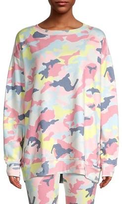 Wildfox Couture Camouflage-Print Sweatshirt