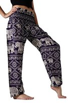 Bangkokpants Women's Yoga Clothing Elephant Pants US Size 0-12