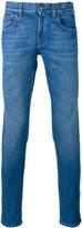 Gucci Web trim jeans - men - Cotton/Spandex/Elastane - 32