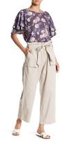 Romeo & Juliet Couture Wide Leg Paper Bag Pant