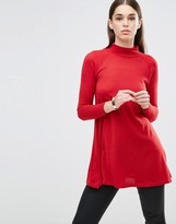 AX Paris Turtleneck Knitted Tunic
