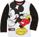 DISNEY BY OKIE DOKIE Okie Dokie Long-Sleeve Mickey Mouse Tee - Preschool Boys 4-7
