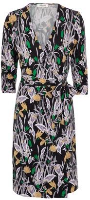 Diane von Furstenberg New Julian Two silk jersey minidress