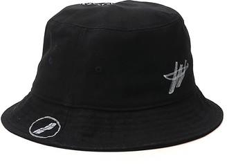 we11done Logo Print Bucket Hat