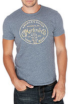 Lucky Brand Martin And Co Graphic Tee