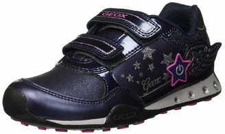Geox Girls' Jr New Jocker Low-Top Sneakers