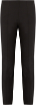 The Row Cosso stretch-twill cropped trousers
