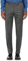 Incotex Women's S Stretch-Wool Twill Trousers-GREY