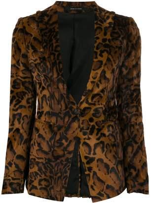 Tagliatore animal pattern blazer