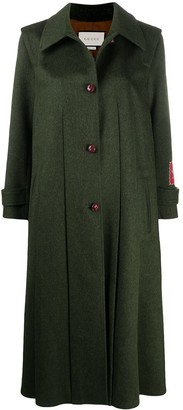 Gucci Single-Breasted Swing Coat