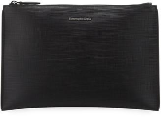 Ermenegildo Zegna Men's Studio Leather Pouch