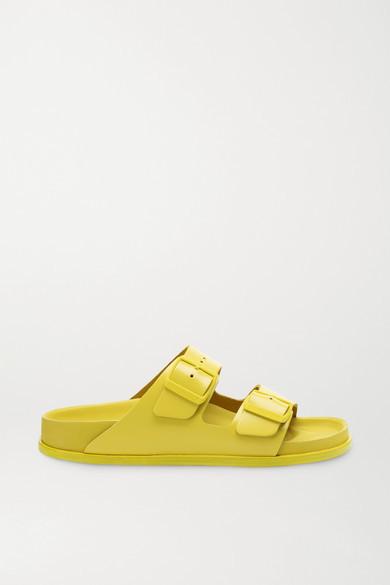 Birkenstock 1774 - Arizona Leather Sandals - Yellow