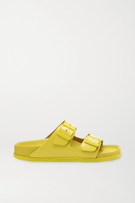 Birkenstock 1774 - Arizona Leather Sandals - Yellow
