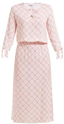 Heidi Klein Tybee Island Printed Jersey Dress - Womens - Pink