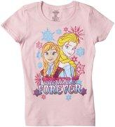 Disney Frozen-Sisters Graphic Tee (Kid) - Pink-5/6
