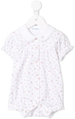 Familiar Floral Print Pyjama Romper