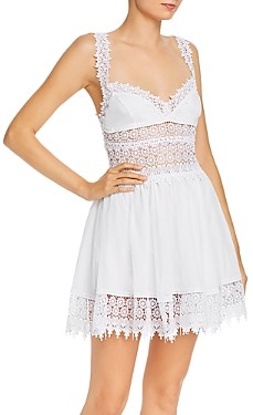 Charo Ruiz Ibiza Marilyn Lace Inset Fit and Flare Dress