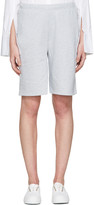 Acne Studios Grey Larna CLG Shorts
