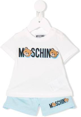 MOSCHINO BAMBINO Teddy Bear two-piece set