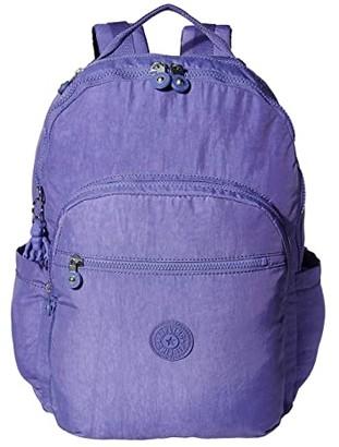 Kipling Seoul XL Laptop Backpack (Cloud Metal) Backpack Bags
