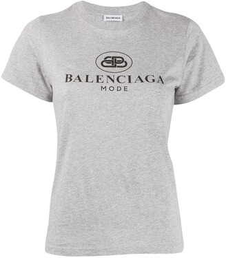 Balenciaga Short-sleeve fitted T-shirt