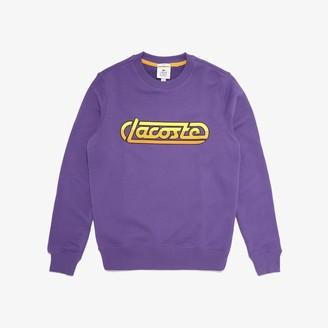 Lacoste Unisex LIVE Signature Fleece Sweatshirt