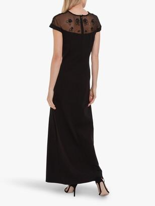 Gina Bacconi Isora Maxi Dress, Black
