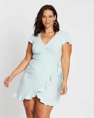 Atmos & Here Phoebe Wrap Front Dress