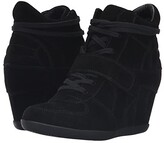 Ash Bowie Suede Wedge Sneakers - ShopStyle