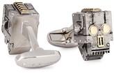 Paul Smith Silver Tone Robot Cufflinks