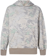 Yeezy camouflage hooded sweatshirt